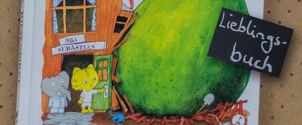 """Die Kinder lieben das Buch """"Die Riesenbirne"""". Darum schreibe ich mal meine Meinung dazu."""