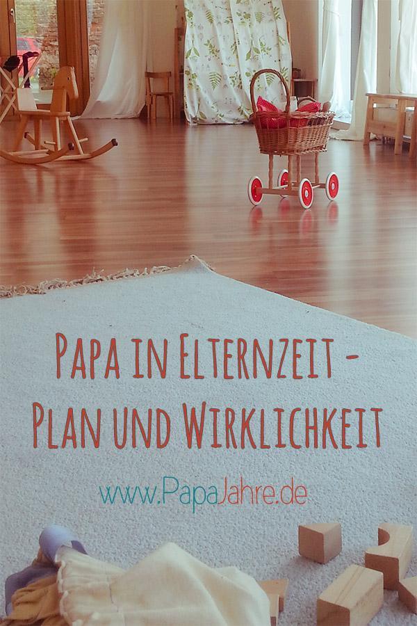 Ein Papa in Elternzeit schreibt über die Pläne und wie deren Umsetzung gelingt. Inklusive Möbelaufbereitung.