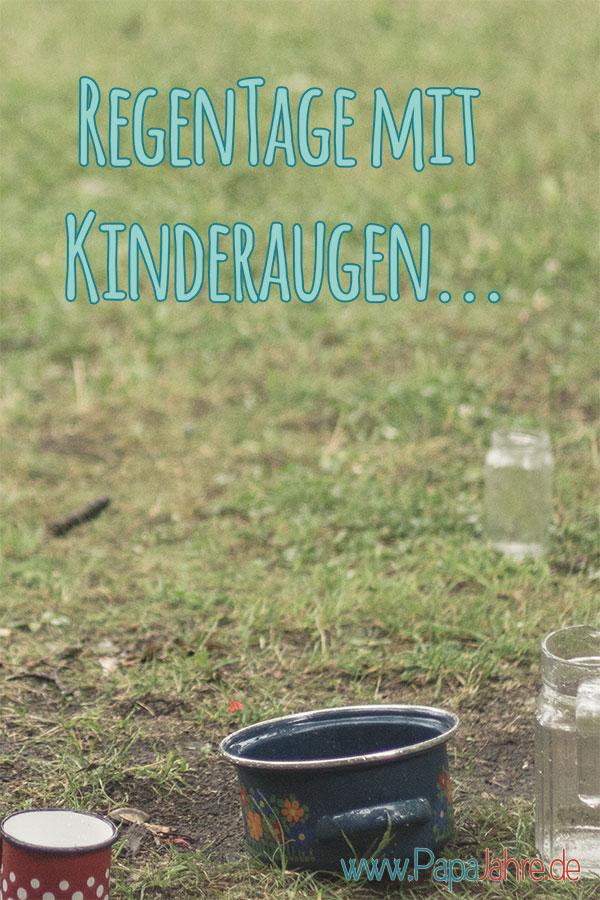 Titelbild - mit Kindern an Regentag Spaß haben und etwas unternehmen