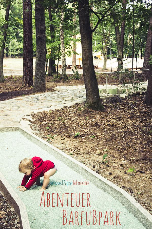 Mit den Kindern in den Barfußpark Beelitz-Heilstätten. Ein empfehlenswerter Ausflug.