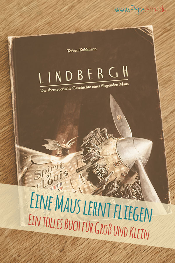 Titelbild Buchtipp Lindbergh die fliegende Maus