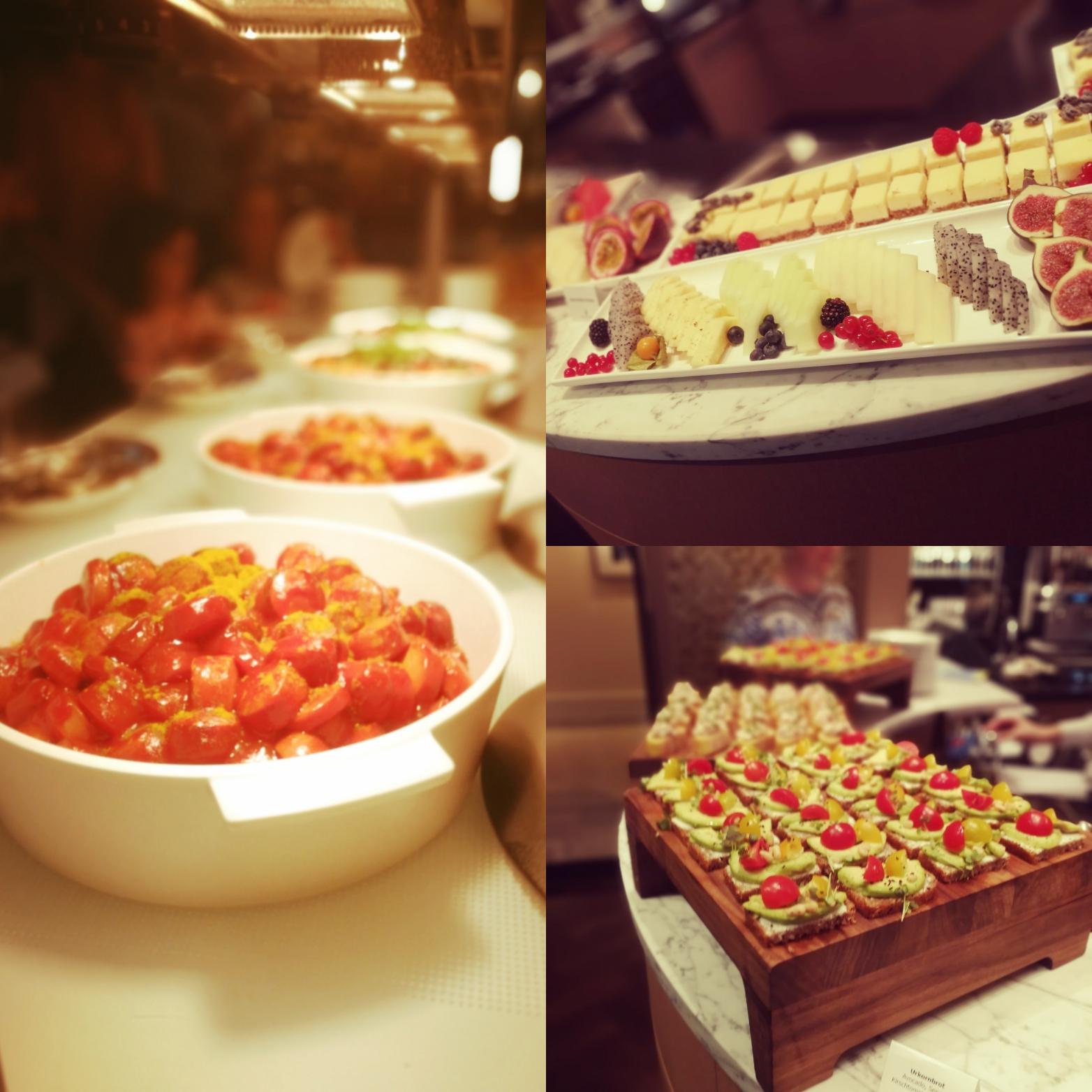 Abendessen im Ritz Carlton in Wolfsburg - mit Currywurst und Käsekuchen