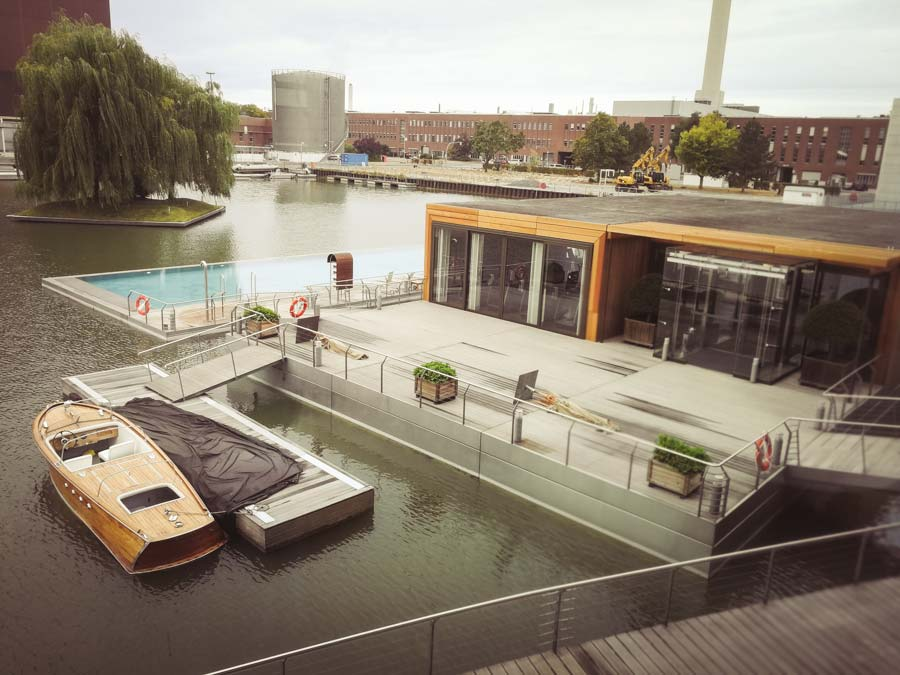 Wellness Bereich im Ritz Carlton in Wolfsburg