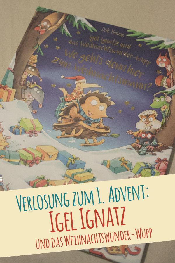 Titelbild Verlosung Igel Ignatz Weihnachtswunderwupp