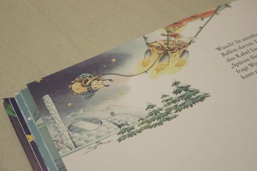 Igel Ignatz auf der Suche nach dem Weihnachtsmann