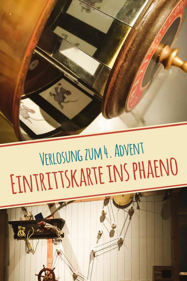 Titelbild Verlosung Advent Eintrittskarten für das phaeno