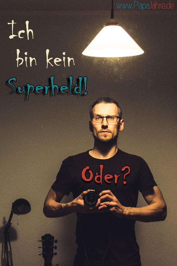 Titelbild Im Spiegel sehe ich keinen Superhelden